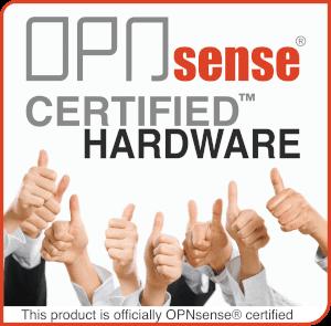 OPNsense Certified Logo