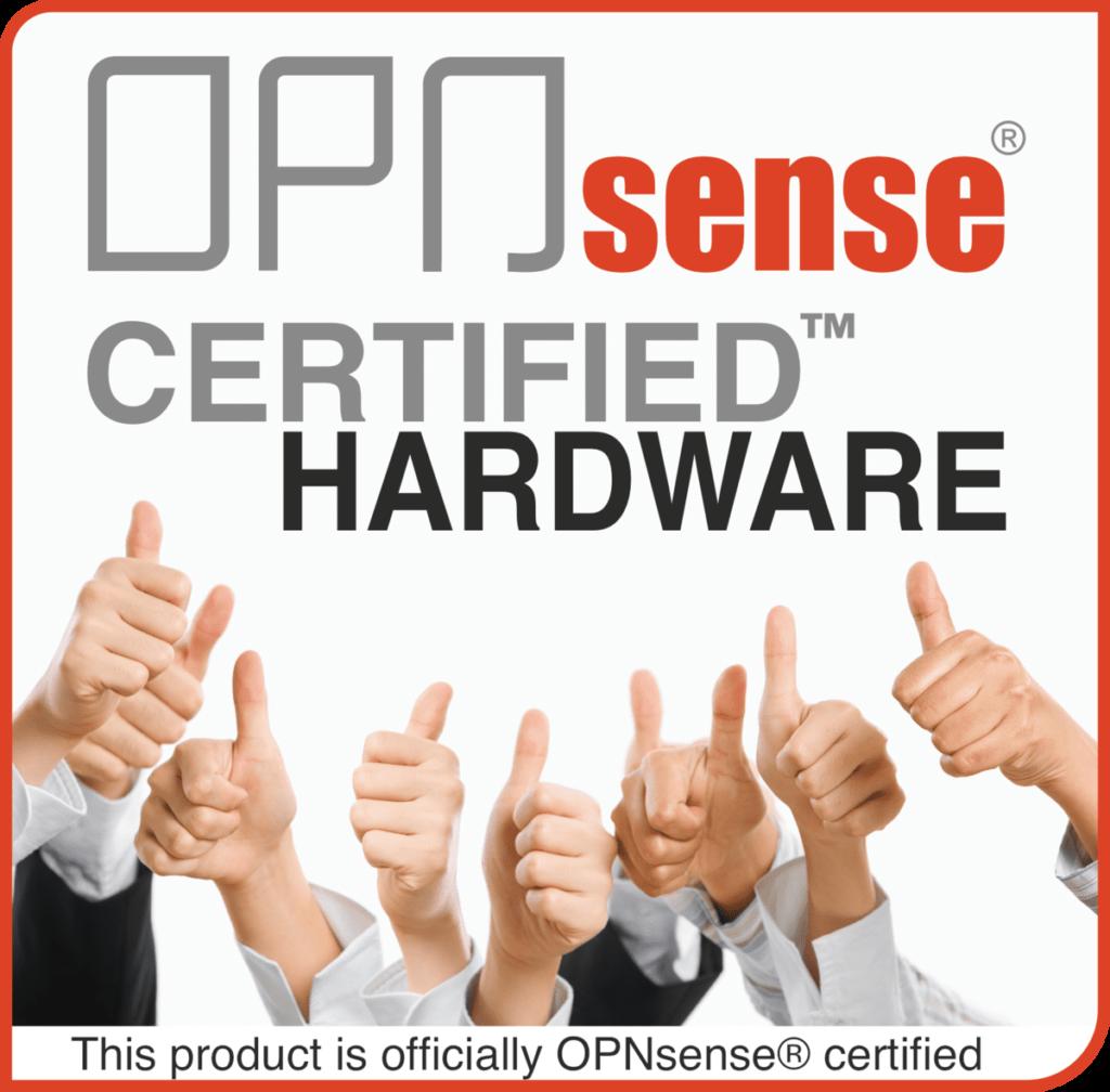 OPNsense-Certified-Logo